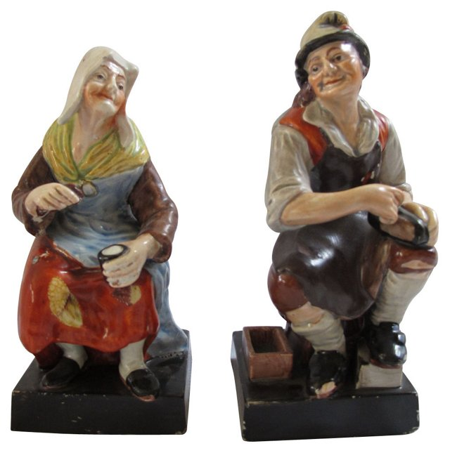 Staffordshire Cobblers, Pair