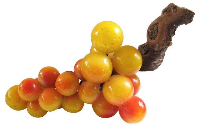 Oversize Italian Alabaster Grapes