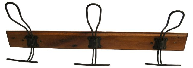 Antique French   Coat Rack
