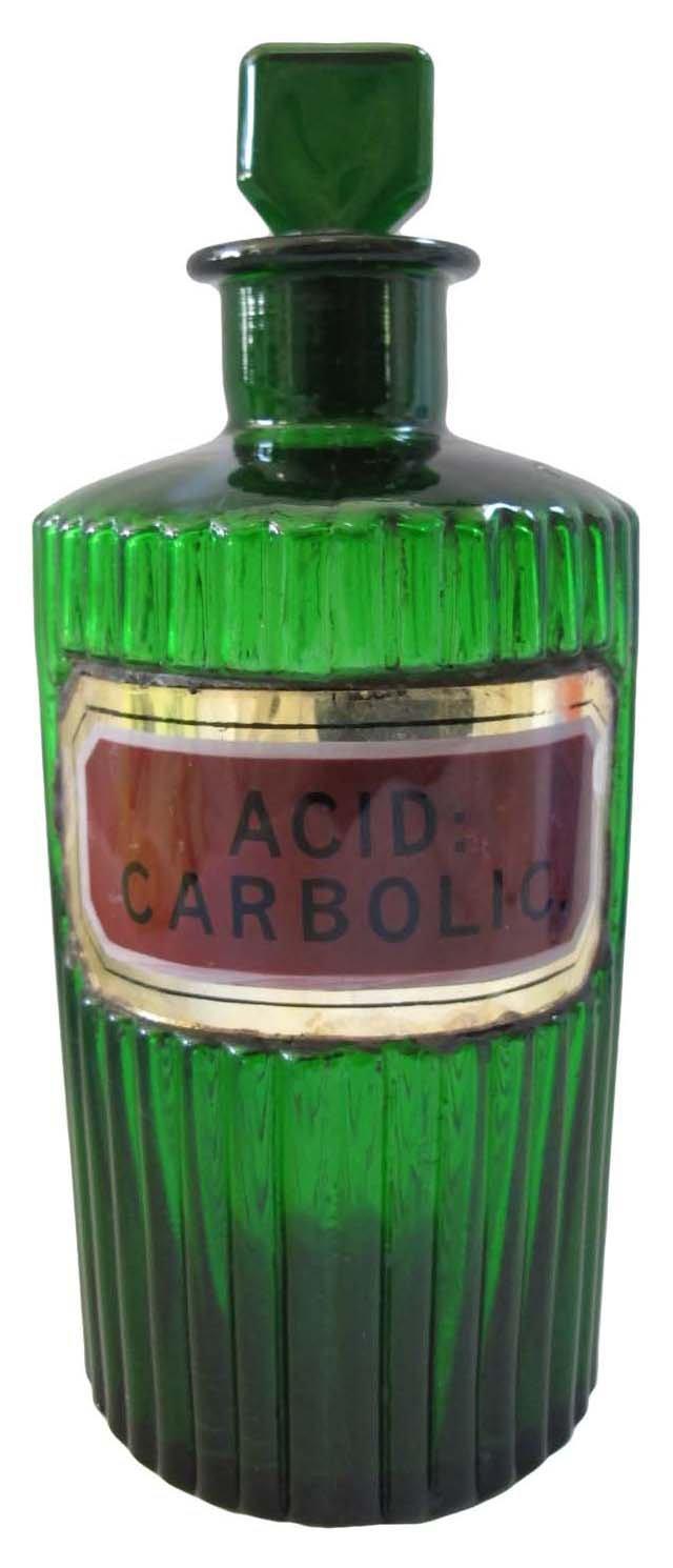 Carbolic Acid Apothecary Jar