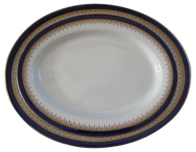 Royal Worcester Platters, Pair