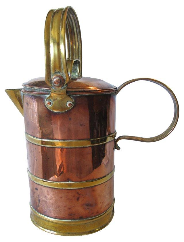 Copper & Brass Pitcher