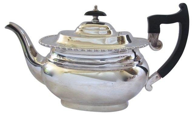 Sheffield Silverplate Art Deco Tea Pot