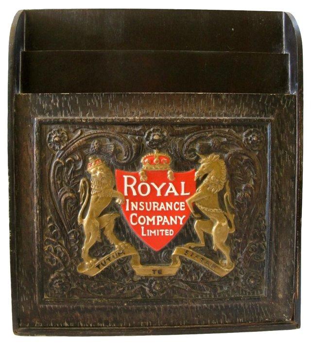 English Advertising Leaflet Box