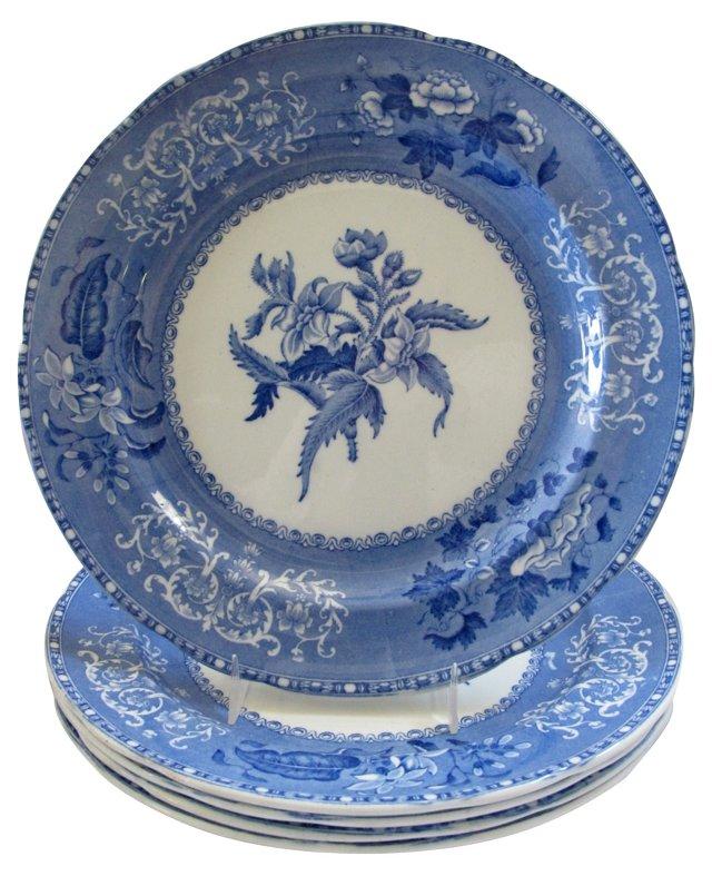 Spode's Camilla Dinner Plates, S/5