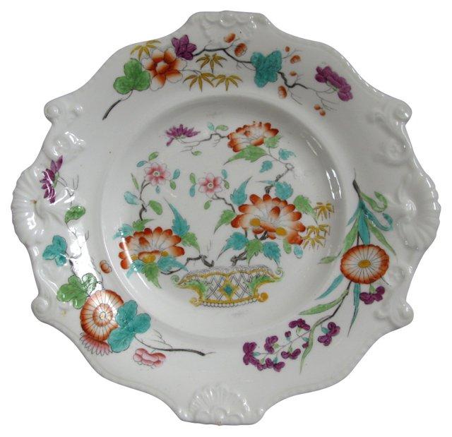19th-C.     English Porcelain Dish