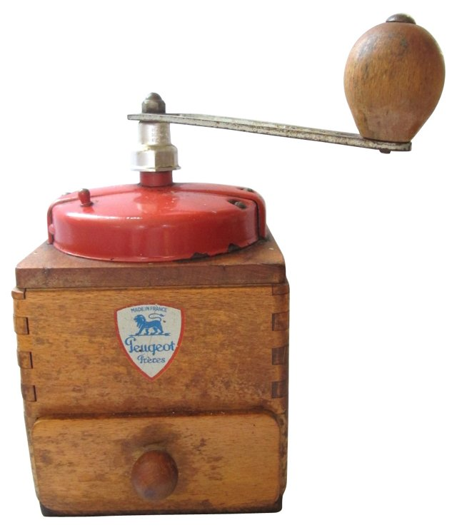1950s French Coffee  Grinder