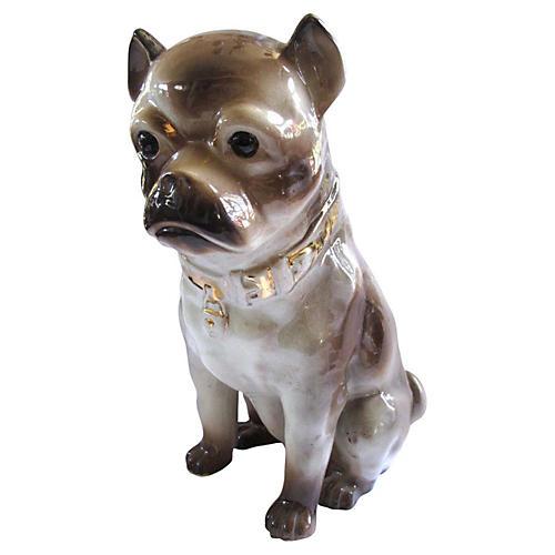 Life-Sized Staffordshire Pug