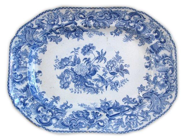 Antique Copeland Staffordshire Platter