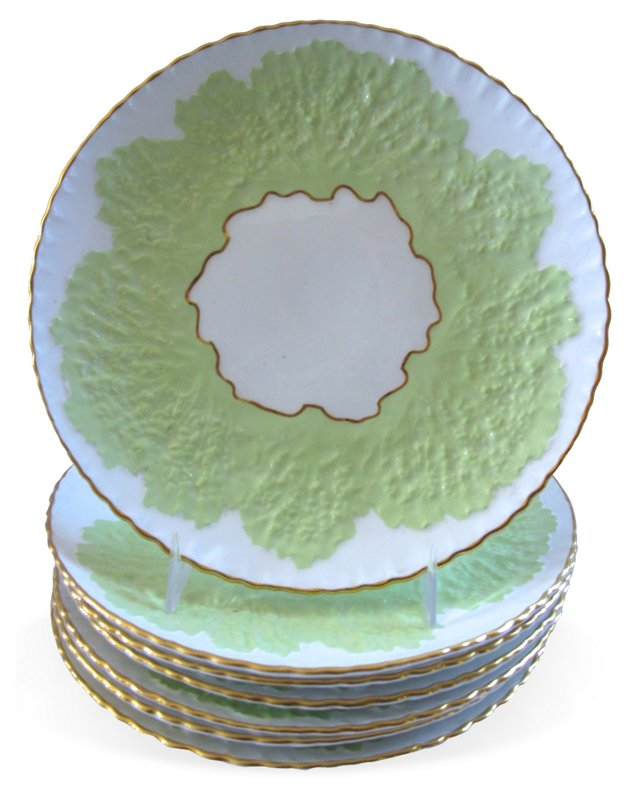 Tiffany & Co. Dessert Plates, S/7