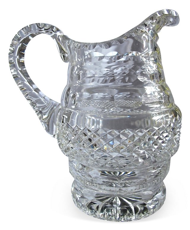 Cut-Crystal  Pitcher *PIC*