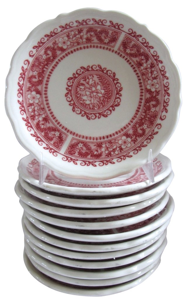 Heavy Catering Plates, S/12