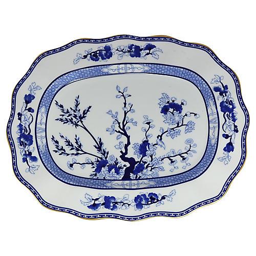 Coalport Blue Tree Platter