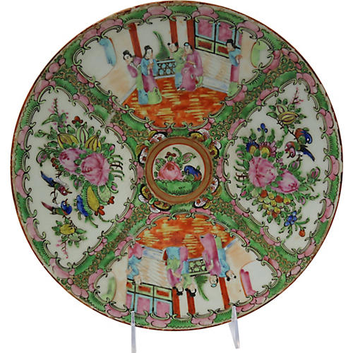 Antique Chinese Export Porcelain Charger