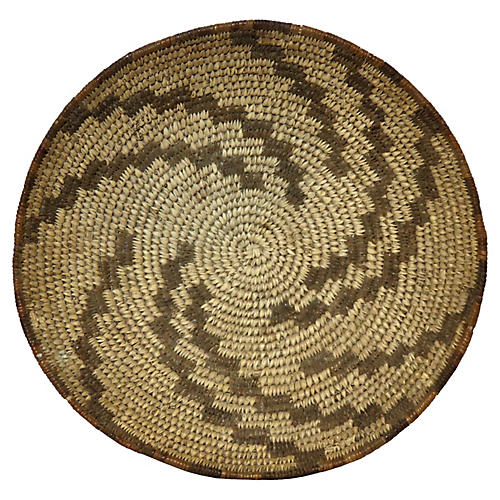 1920s Native American-Style Basket