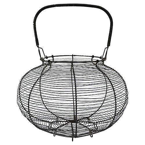 Oversize French Market Produce Basket