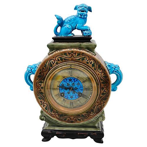 French Jules Viellard Bordeaux Clock