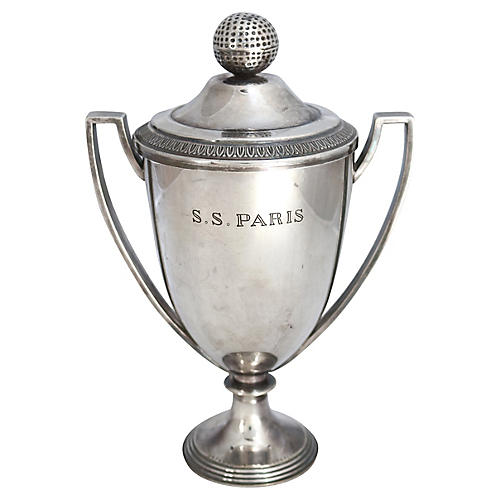 1930s Christofle Paris Golf Club Trophy