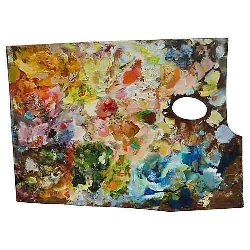 French Impressionist Color Oil Palette