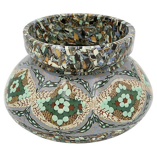 Mid-Century French Art Pottery Vase