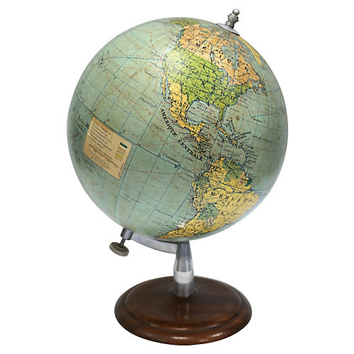 French Desk Globe