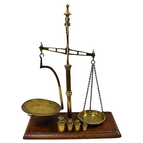 Antique English Balance Scale