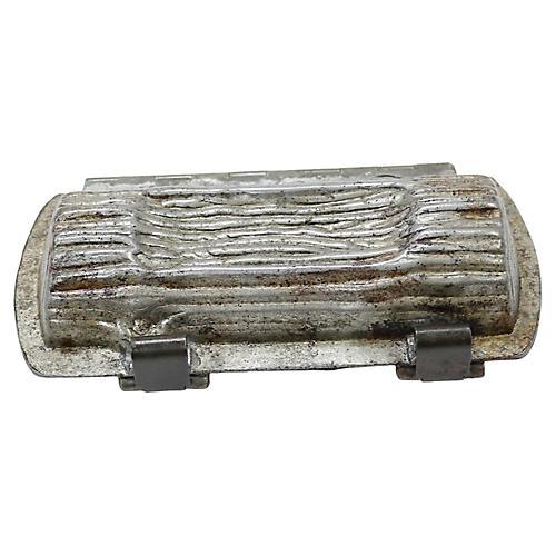 Antique Chocolate Yule Log Mold e3ff65f64761b