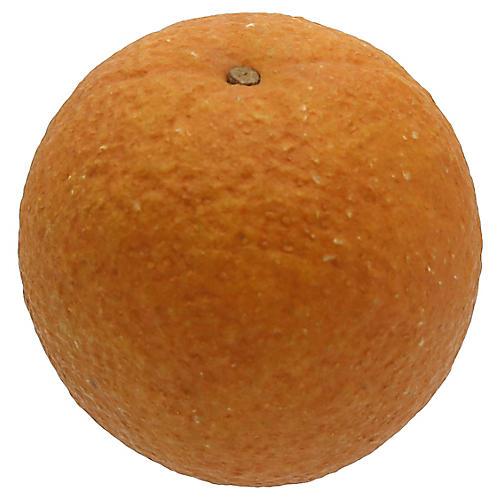Mid-Century Italian Alabaster Orange