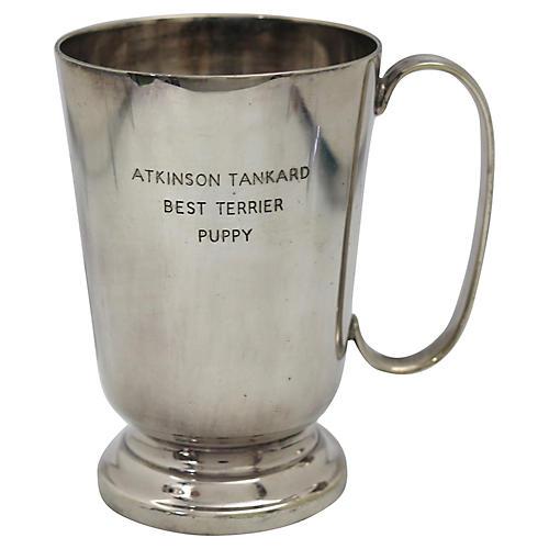 English Terrier Puppy Show Trophy Mug