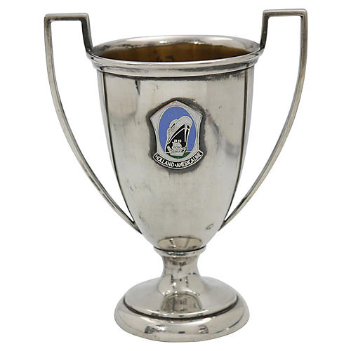 Midcentury Holland America Line Trophy