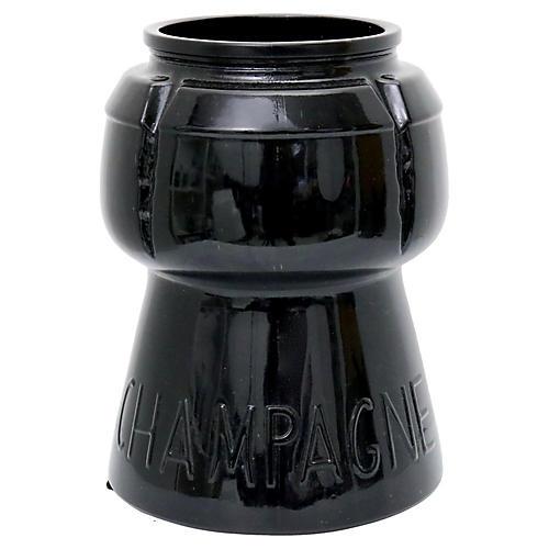 French Amethyst Glass Champagne Bucket