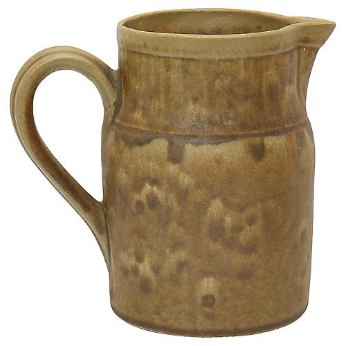 French Stoneware Water Jug