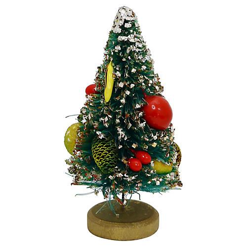 Mid-Century Miniature Bottle Brush Tree