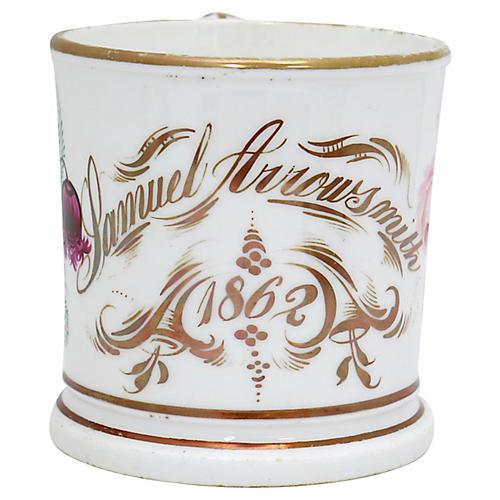 1862 Samuel Arrowsmith Birth Mug