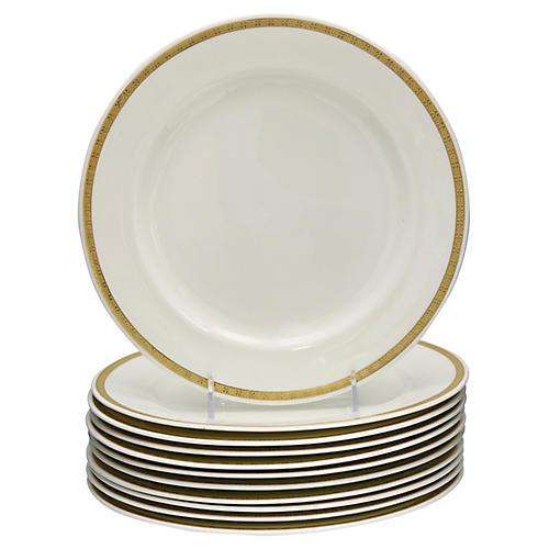 Royal Worcester Dinner Plates, S/11