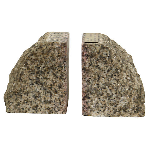 Bookends Made From London Bridge Granite