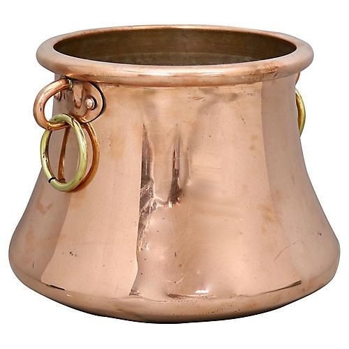 Antique English Copper Pot / Planter