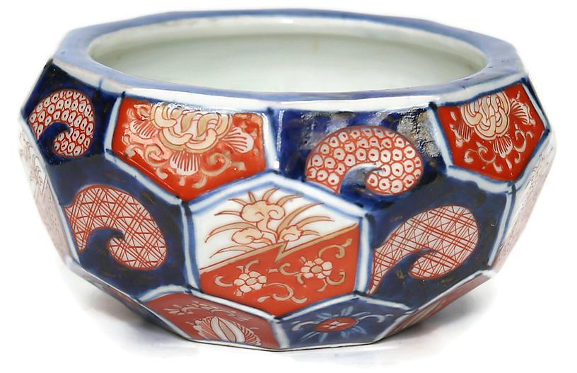 C.1890 Japanese Imari Porcelain Bowl