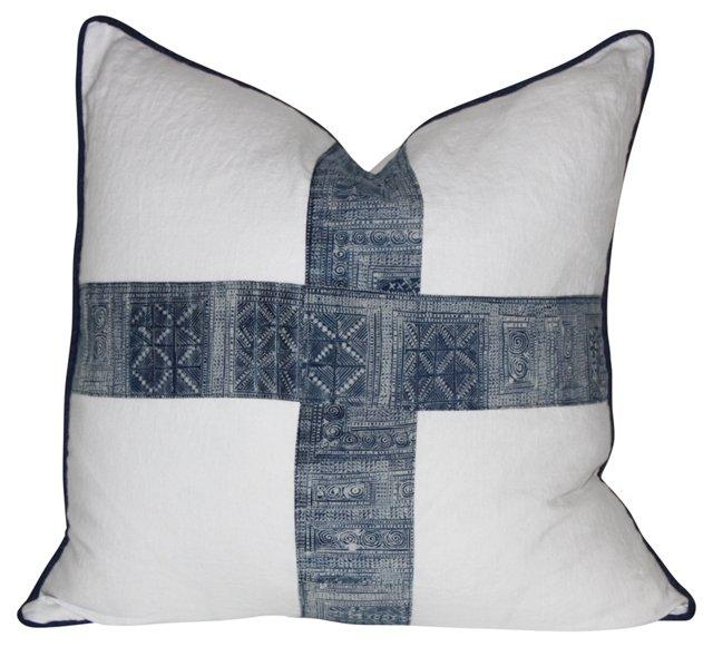 Pillow w/ Antique       Batik