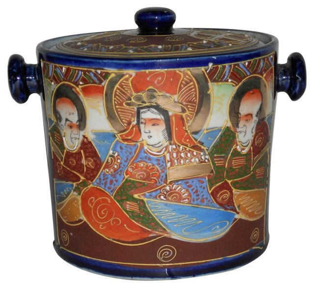 Antique Chinese Biscuit Jar
