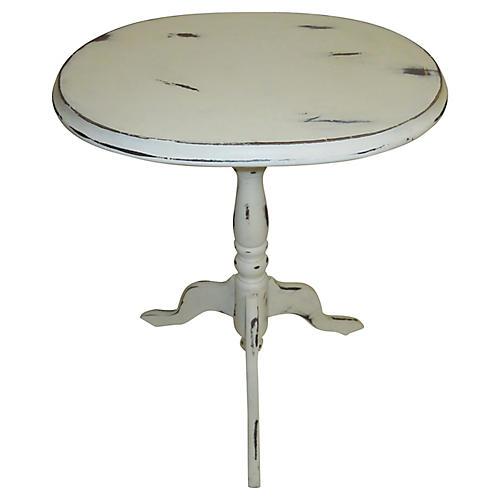 1960s Oak Side Table