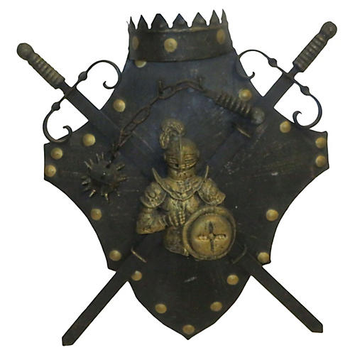 Medieval Knight & Armor Wall Light