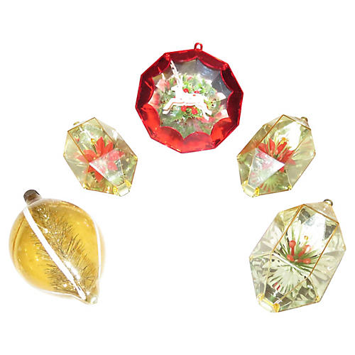 Christmas Ornaments S/5