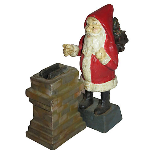 Santa Claus Iron Bank