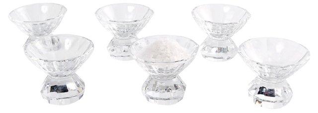 Heavy Crystal Salts, S/6
