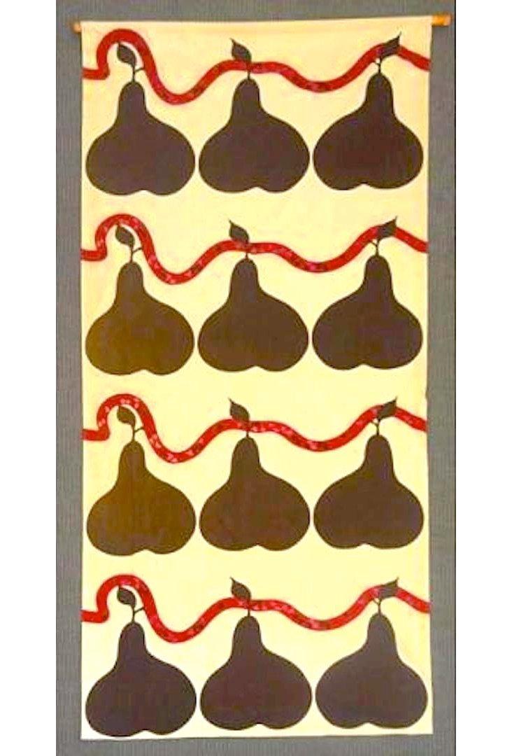 Marimekko Textile Wall Hanging
