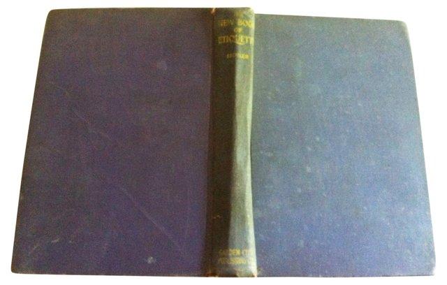 New Book of Etiquette, 1924