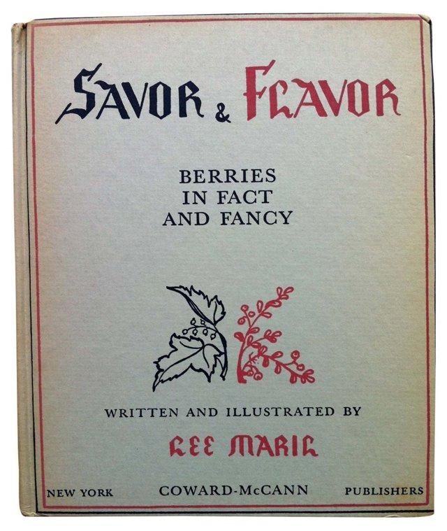 Savor & Flavor:  Berry Book