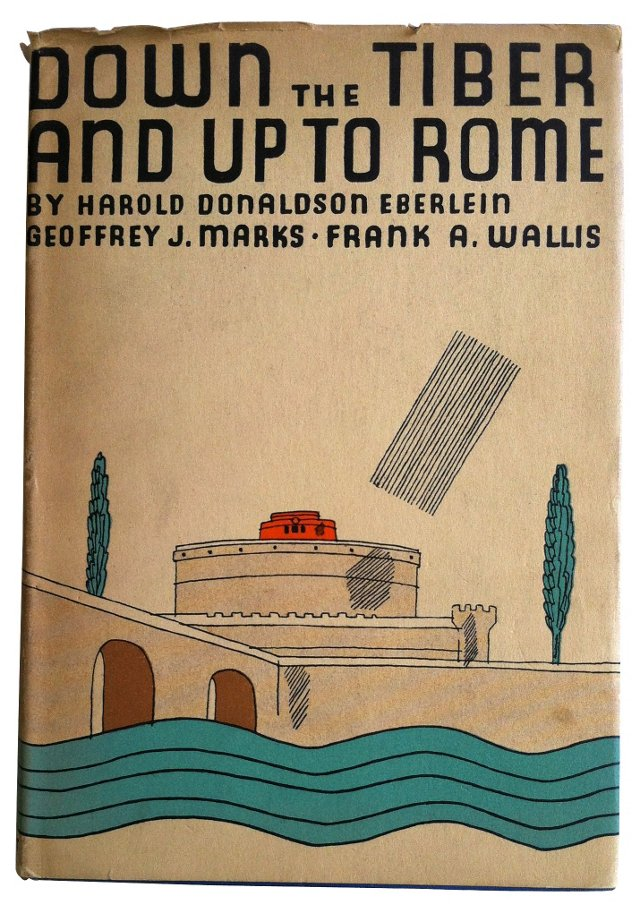 Down the Tiber, Up to Rome, 1930