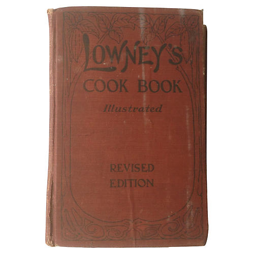 Lowney's Cook Book, 1912
